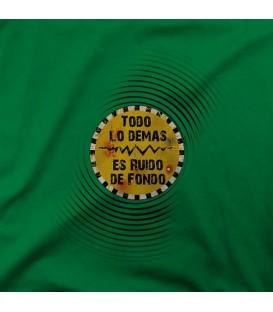 camisetas modelo TODO LO DEMAS ES RUIDO