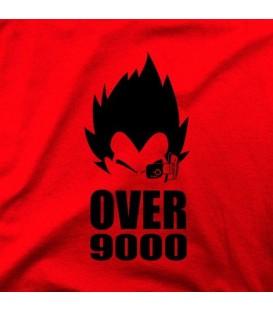 camisetas modelo OVER 9000