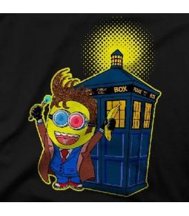 camisetas modelo BANANA TO PARTY TARDIS