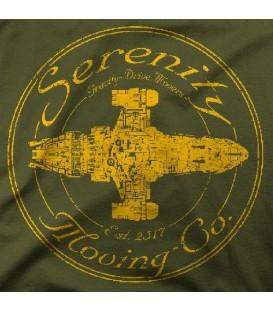 camisetas modelo SERENITY MOVING CO