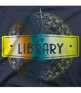 camisetas modelo THE LIBRARY GOLD