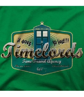 camisetas modelo TIME LORDS