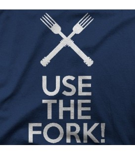 camisetas modelo USE THE FORK