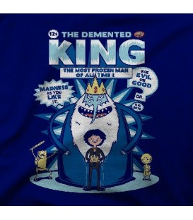 camisetas modelo DEMENTED KING