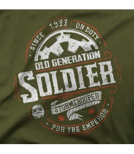 camisetas modelo OLD SOLDIER