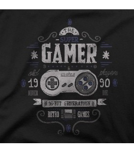 camisetas modelo SUPER GAMER