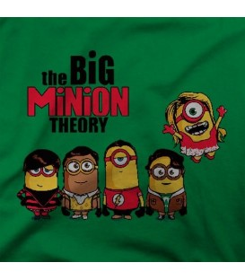 camisetas modelo THE BIG MINION THEORY