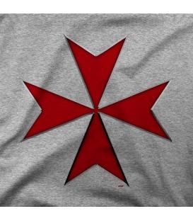 camisetas modelo CRUZ TEMPLARIA 009