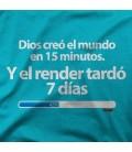 DIOS CREO EL MUNDO EN 15 MINUTOS