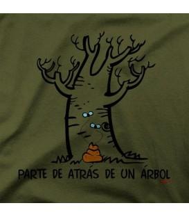 camisetas modelo PARTE DE ATRAS DE UN ARBOL