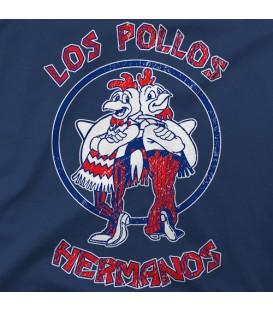 camisetas modelo LOS POLLOS HERMANOS BICOLOR