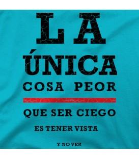 camisetas modelo PARA CIEGOS
