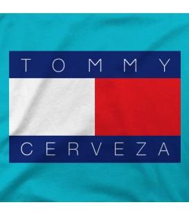camisetas modelo TOMMY CERVEZA
