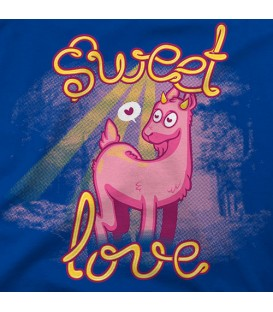 camisetas modelo SWEET LOVE