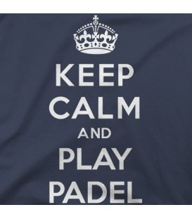 home modelo Keep Calm and play pádel A