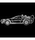 Regreso al Futuro - DeLorean trazo Blanco