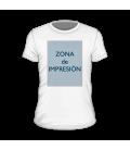 Camiseta personalizada ( 1 cara )