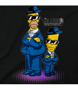 home modelo Homer & Burt The Blues Brothers