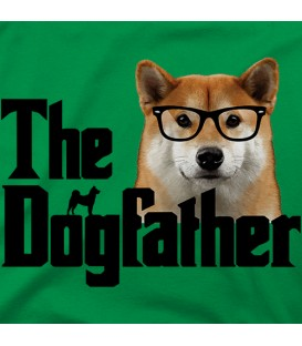 camisetas-de-mascotas modelo The Dogfather color