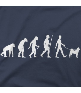 camisetas-de-mascotas modelo Shiba Inu Evolution