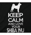 Keep calm Shiba Inu