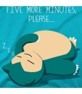 Five minutes more please
