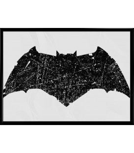 home modelo Poster Batman Old