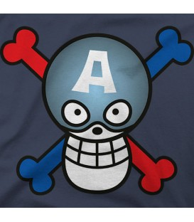 home modelo One Piece - Capitan America