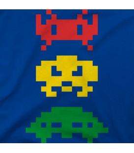 camisetas modelo Rasta invaders 2