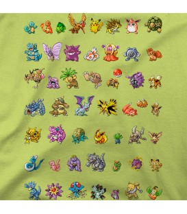 camisetas modelo POKEMON 1