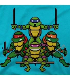 camisetas modelo TMNT