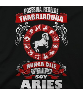 home modelo Soy Aries chica