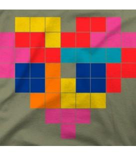 camisetas-frikis modelo Tetris InLove