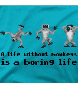 camisetas-frikis modelo Monkey Island