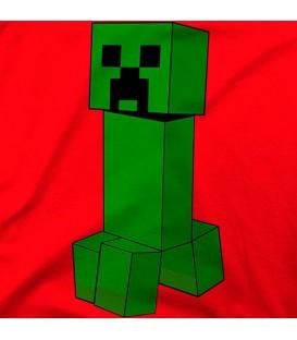 camisetas-frikis modelo Minecraft Creeper