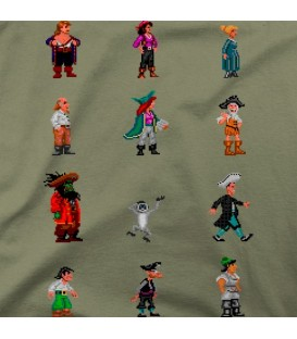 camisetas-frikis modelo Monkey Island 2