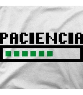 camisetas-frikis modelo Paciencia