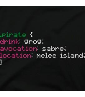camisetas-frikis modelo Monkey Island Dev