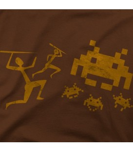 camisetas-frikis modelo Space Invaders