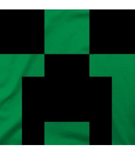 camisetas-frikis modelo Minecraft Creeper Face