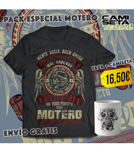 home modelo PACK ESPECIAL MOTERO TAZA + CAMISETA