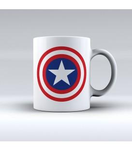 home modelo Taza Capitán América