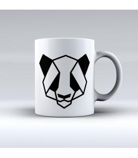 Taza Panda Lineal