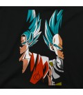 Blue Vegeta y Goku