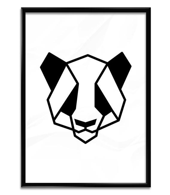Lámina Oso Panda
