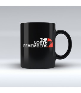 Taza Negra The North Remembers